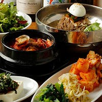 伝統と創作を融合した新しい韓国料理