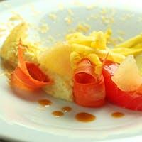 自然の色彩と料理の融合