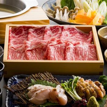 【しゃぶしゃぶコース】極上おきなわ黒毛和牛(サーロイン)がメイン!沖縄の食材を生かした全5品を堪能