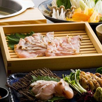 【しゃぶしゃぶコース】久米島赤鶏のしゃぶしゃぶがメイン!沖縄の食材を生かした全5品を堪能