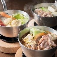 """新たに""""選べるスープの鍋料理""""を追加したランチブッフェ"""