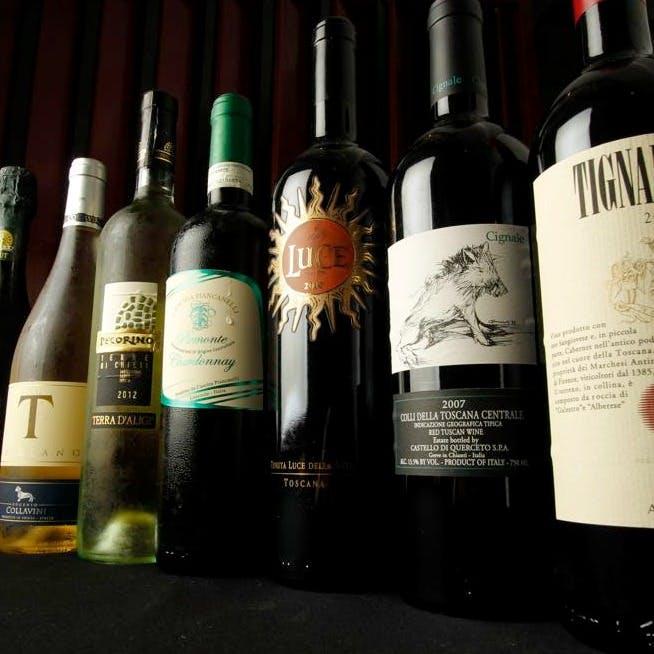 美味しい料理とワインで素敵な時間を