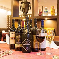 ワイン発祥の地、東欧とコーカサス地方のワインを中心に取り揃えております