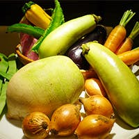 全国各地より無農薬有機野菜を取り寄せております