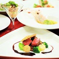 彩り豊かなフランス料理