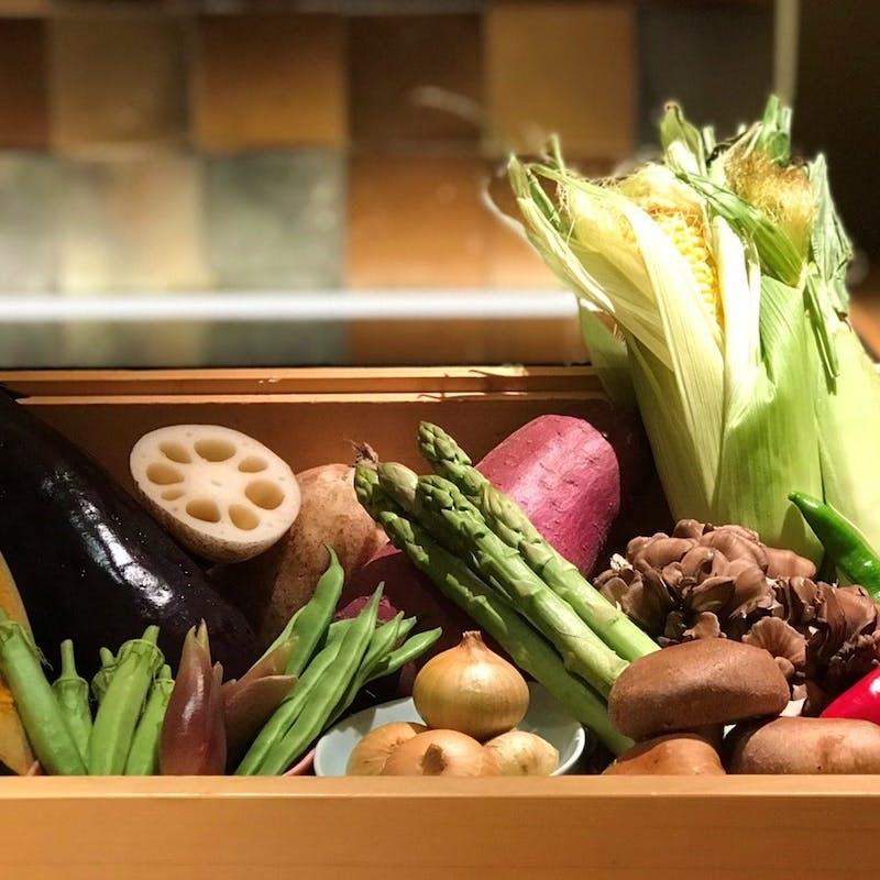 【楓】野菜を中心としたコース