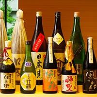 寿司の旨さを引き立てる各地の銘酒も充実 日本酒や古酒、ワインやシャンパンも