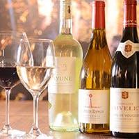 厳選ワインやフレッシュな日本酒と美食のマリアージュ