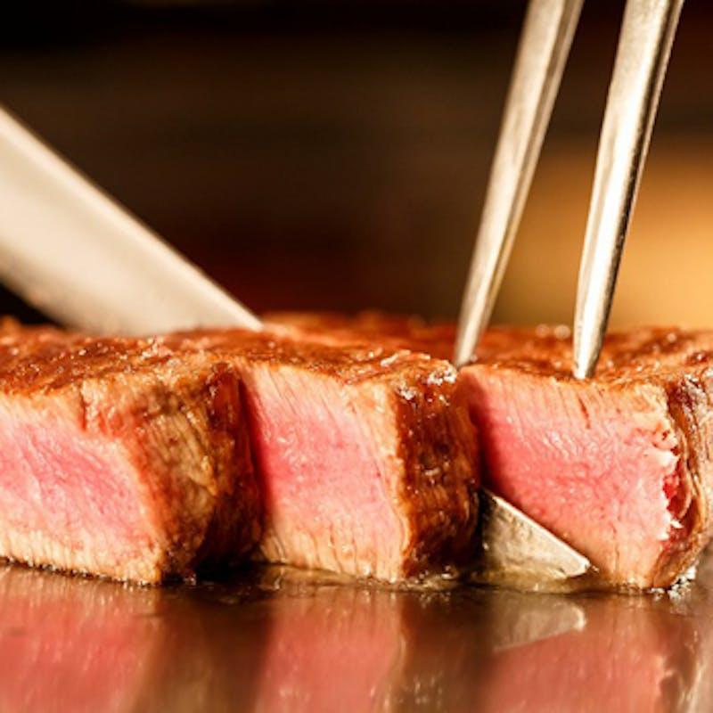 【平日限定和牛ロースランチ】シーフード食べ比べ等全6品+乾杯ドリンク