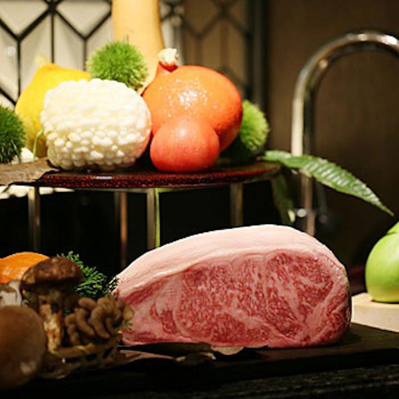 【まるごと秋の味覚!収穫祭】ステーキ、マハタや伊勢海老など全8品(三重県産松阪牛・10月限定)