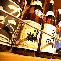 酒造りの名産地 新潟の地酒がズラリ40種以上
