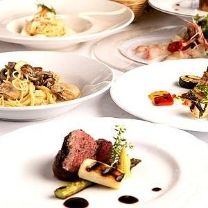 肩、ひじを張らない気軽に、記念日に接待に。旬の食材を毎日華麗なイタリア料理に!!
