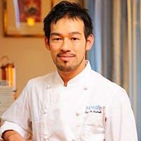 シェフ 岩坪 滋 Yutaka Iwatsubo
