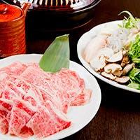 和牛と旬の素材にこだわった料理と趣のある店内