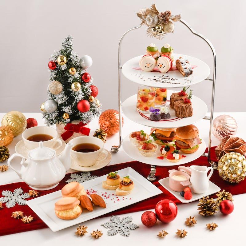 【クリスマスアフタヌーンティーセット】(火曜水曜限定開催)