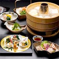 京都を代表するお料理である「ゆどうふ」と「ゆば」