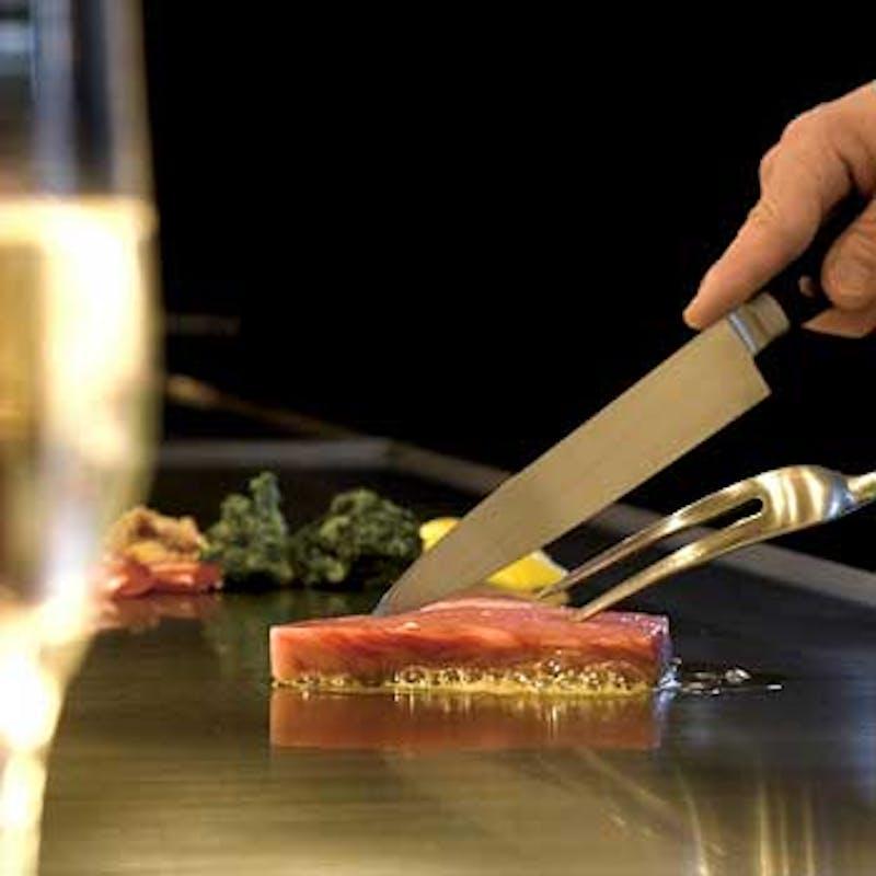 【記念日プラン】ケーキ付+乾杯シャンパン(活け車海老と本日の魚、近江牛など全7品)