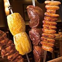 本場シュラスコ料理(ブラジリアン バーベキュー)を存分にお楽しみ下さい。