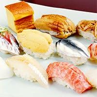 柔軟なアイディアと伝統の技が織り成す逸品料理と寿司をワインと共に