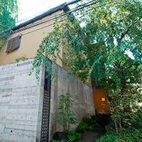 西麻布の住宅街に佇む一軒家