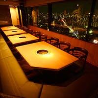 地上80メートルのパノラマ美食空間
