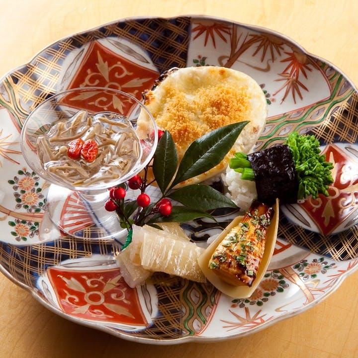 季節を感じる日本酒と旬食材の料理