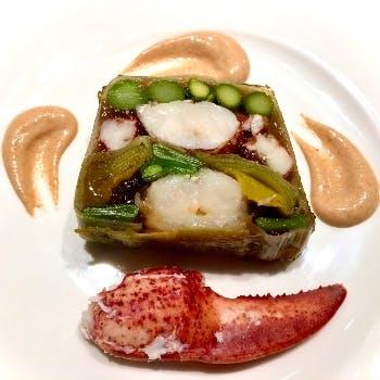 【Menu Degustation】ズワイ蟹・キャビア・シャラン産鴨を含んだ全6品