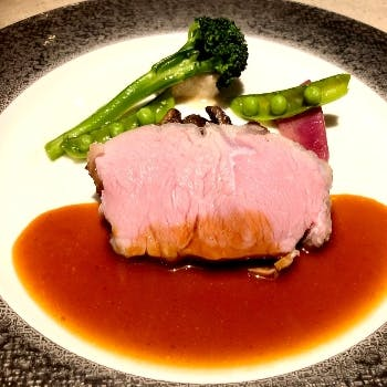 【Menu Plaisir】フォアグラ・キャビア・シャラン産鴨など、豪華食材含む全7品+乾杯シャンパーニュ