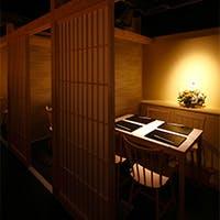 木屋町に佇む個室空間