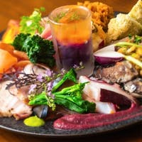 tsuchi 農園野菜とお肉料理