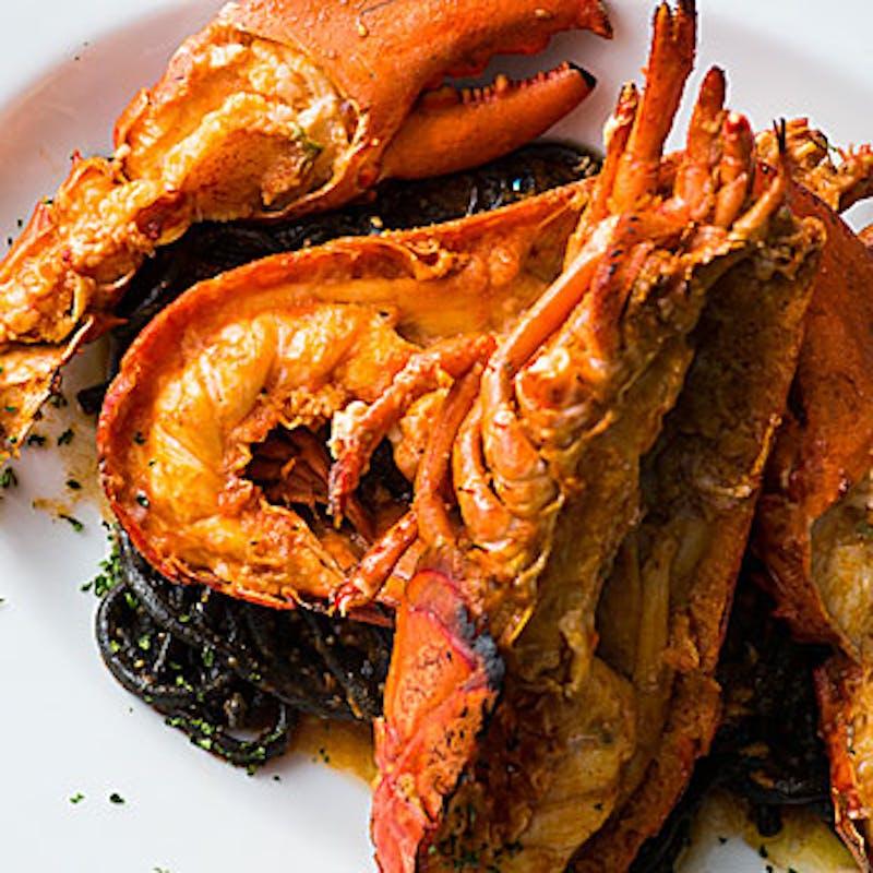 【ご褒美ランチ】オマール海老のパスタ、お肉料理、デザートなど全5品+記念日プレート+1ドリンク