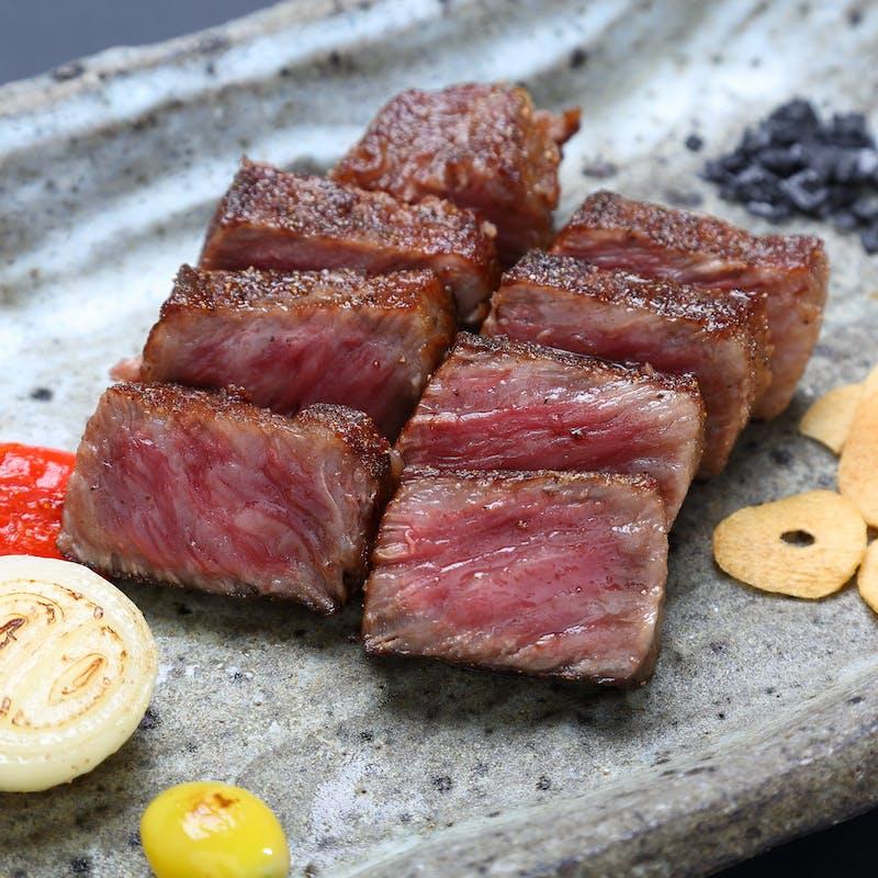【アニバーサリープラン】1ドリンク&ホールケーキ付 米沢牛サーロインステーキ100gと魚介など全7品