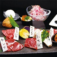 肉を知り尽くした料理人が腕を振るう、上品な創作肉料理の数々