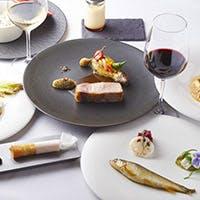 選りすぐりの旬の食材で創り出す上質なフランス料理に舌鼓