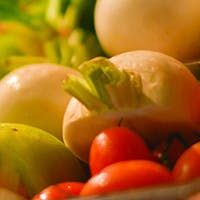野菜の美味しさが評判のダイニング。群馬直送有機野菜を使用