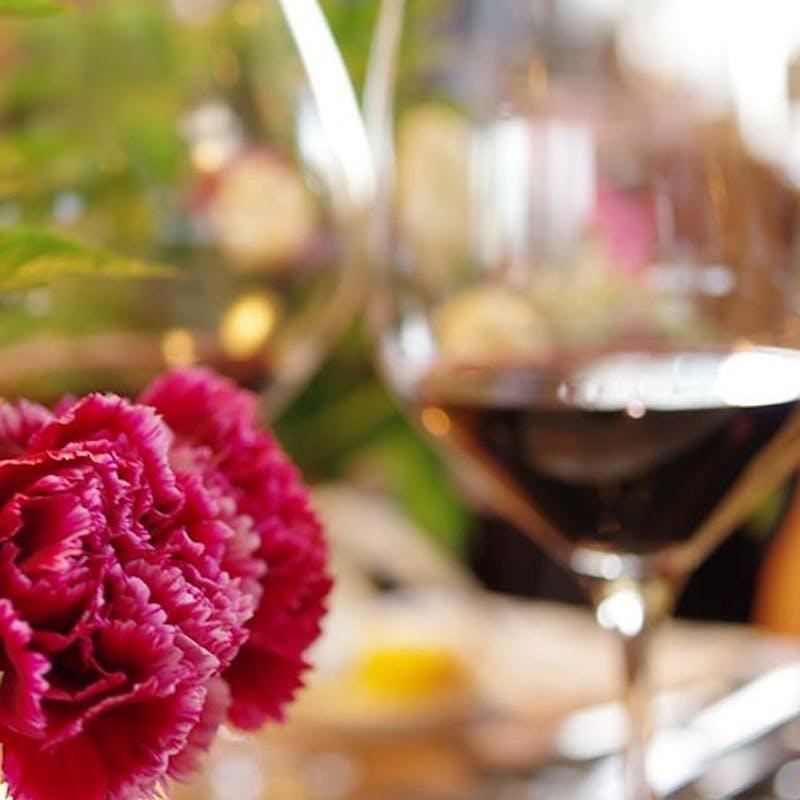【少人数でのお集まりに】極上の創作料理&ワインセレクトコース+飲み放題+ソムリエ厳選ワイン(2名~)