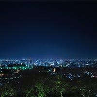 長野の夜景を満喫
