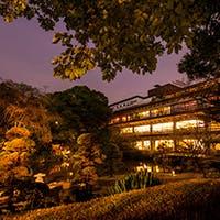 和情緒溢れる日本庭園が一望できる安らぎと温もりの空間