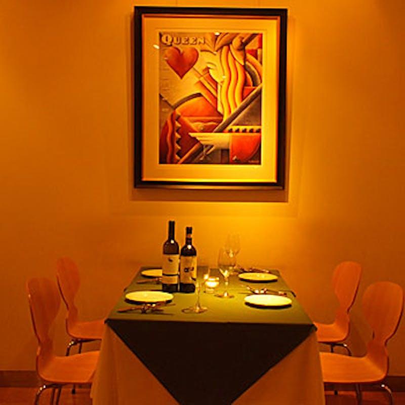 【人気洋食堪能コース】ハンバーグ・オム・デザート盛合せ等全6品+乾杯スパークリング