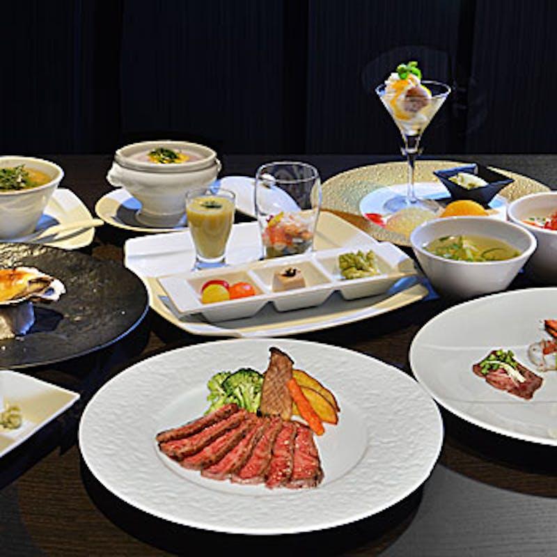 【プレミアムコース】前菜、お造り、米沢牛のメインなど全9品(個室選択可)