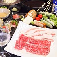 確かな目利きで厳選した最高等級の霜降り肉と神戸有機野菜