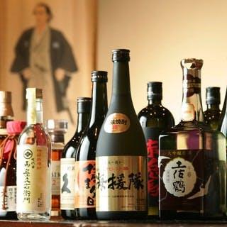 逸品料理との相性も抜群の土佐の地酒