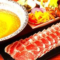 江原ハーブ豚の葉衣しゃぶしゃぶと酒肴の至福