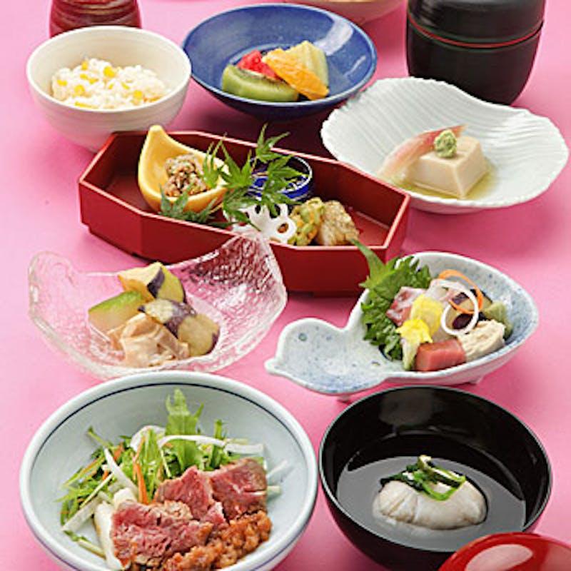【花懐石】食前酒付 月替わりの京懐石 全8品