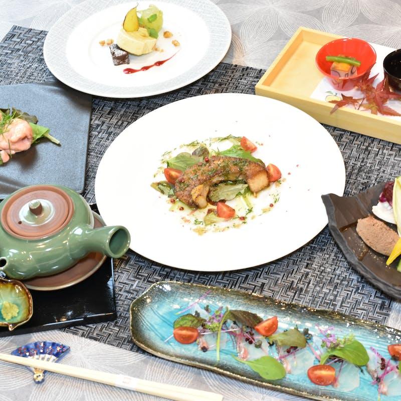 【旬のお魚コース】全7品+乾杯1ドリンク(個室選択可)