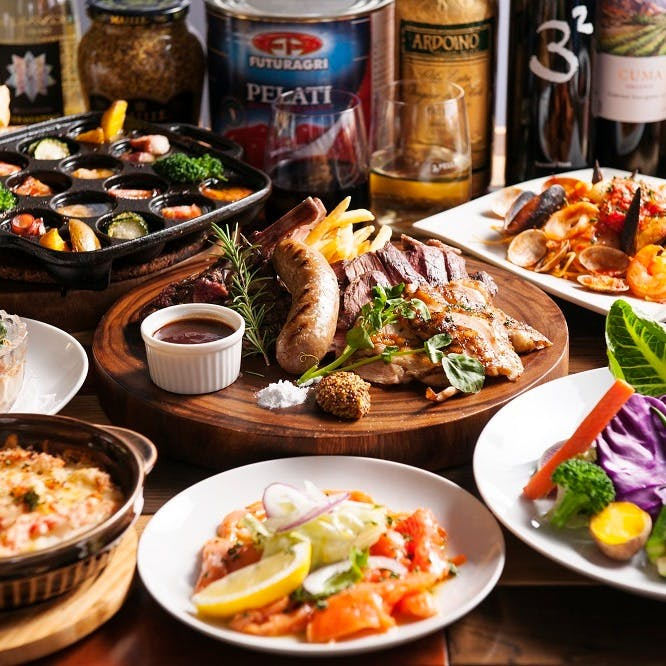 厳選された食材、シェフの至極の料理