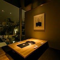 全室個室の渋谷の中心に位置する和モダンな上質空間