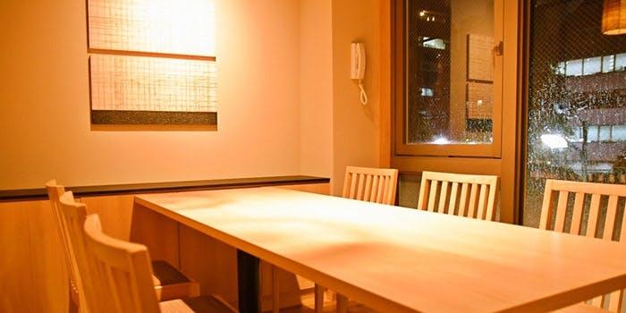 記念日におすすめのレストラン・麻布 あみ城の写真1