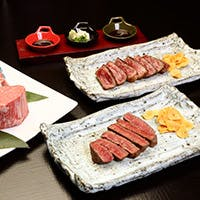熟練した職人による繊細な京料理とこだわりの米沢牛を楽しむ鉄板焼き
