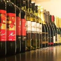 国産ワインと国産野菜のマリアージュをお楽しみください
